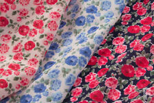 "Polycotton Floral 45"" Craft Fabrics"