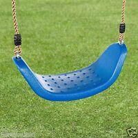 Outdoor Rope Swing Seat Set Kids Garden Toy Children Plastic Tree Swing Children