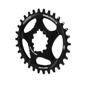 Blackspire Snaggletooth GXP DM Oval NW chainring, 30T - black