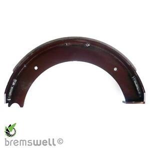 1 x Bremsbacke mit Belag Anhänger ESPE ZAPP RINNER BPW PEITZ Achse 350 x 60