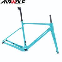 Carbon Gravel Bike Frame Cyclocross Bicycle Frameset 700*40C 49/52/54/56/58cm