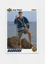 DOUG WEIGHT - 1991/92 UPPER DECK & SCORE - NEW YORK RANGERS / ROOKIE CARDS (3)