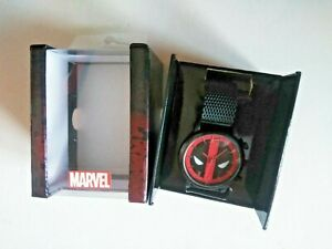 Deadpool Marvel Accutime Watch Brand NEW