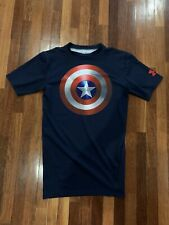 Authentic Under Armour Captain America shirt, Size Medium, Limited edition