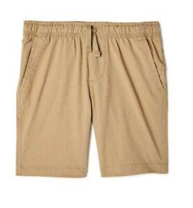 Wonder Nation Khaki Pull On Shorts School Uniform Approved Boy's Size 8