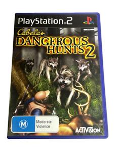 Cabela's Dangerous Hunts 2 PS2 PAL *Complete*