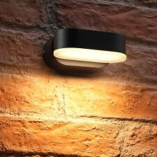 Auraglow 7w Outdoor Integrated LED Swivel Rotating House Number Wall Light