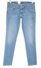 NEW Levis SKINNY Slight Curve Blue Low Rise Jeans Size 12 W30 L34
