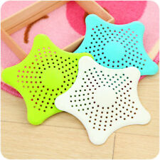 5X Bath Stopper Strainer Filter Drain Hair Catcher Shower Cover Trap Basin UK