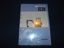 VOLVO EC20 MINI EXCAVATOR SERVICE SHOP REPAIR MANUAL BOOK NEW