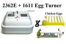 New Gqf 2370 Egg Incubator with 1611 Chicken-Duck Turner (formerly 2362N)