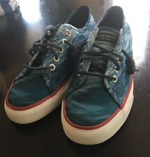 Sperry Top-Sider Jaws Movie Seacoast Casual Shoes Blue Water Womens Size 8.5 M