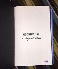 "SUZANNE COLLINS SIGNED AUTOGRAPH ""HUNGER GAMES MOCKINGJAY"" BOOK  PSA/DNA V04881"