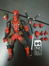 Revoltech Amazing Yamaguchi Deadpool figure authentic X-Men Marvel Legends Head