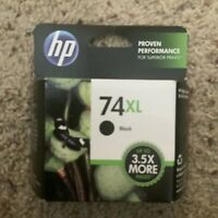 NEW Genuine HP 74XL Black Printer Ink Cartridge CB336WN Expired April 2013