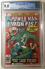 Power Man and Iron Fist #66 - CGC 9.0 - 2nd app. Sabretooth
