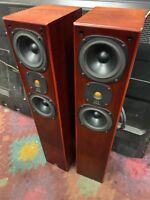 VINTAGE MONITOR AUDIO monitor 3  FLOOR STANDING SPEAKERS 3- WAY