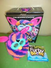 Hasbro 2012 Furby Boom Hot Pink Striped w/ box instructions working condition
