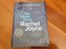 THE MUSIC SHOP- Rachel Joyce- signed first edition, unread- numbered 421 of 600
