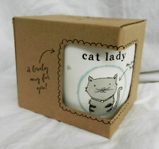 Crazy Cat Lady Bone China Mug in Gift Box - BNIB