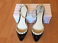NEW with BOX FLAT SHOES FOR WOMEN POINTED TOE ANKLE STRAP FLATS Size 6.5 inches