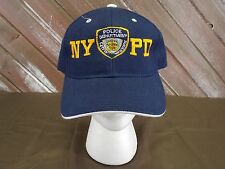 NYPD Hat Police Department City of New York Blue Baseball Cap One Size
