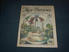 1931 JULY 1 MON OUVRAGE MAGAZINE - CARTIER-BRESSON PATTERNS - FR 1408
