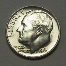 •3200 1961-D  DIME ⭐️ 90/% Silver ⭐️  UNC  ⭐️