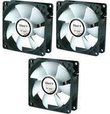 3 x GELID Solutions Silent 9 92mm Case Fans 1500 RPM, 31.3 CFM, 20.0 dBA