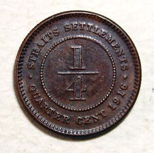 1/4 cent S/settlements 1916 coin #192