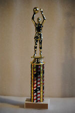 """11"""" Basketball Male or Female Figure Trophy - Free Engraving & Shipping"""