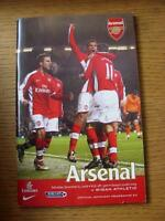 06/12/2008 Arsenal v Wigan Athletic  (Small Nick On Bottom Edge).
