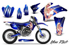YAMAHA WR250F WR450F 2007-2011 GRAPHICS KIT CREATORX DECALS YRBLNP