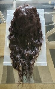 24inch , 150% density Wavy human hair lace front wig