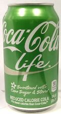 "full 12oz can coke ""coca-cola life"" südamerika stevia extrakt 2016 usa"