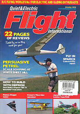 Quiet & Electric FLIGHT Intl October 2015 R/C Flying How to Build a DEPRON SR-71