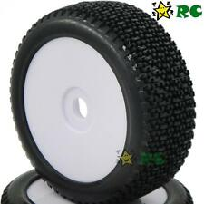 4pcs NEW 1/8 RC Off-Road Buggy Rubber Tires Tyre w/ Foam & Hex 17mm Wheels Rims