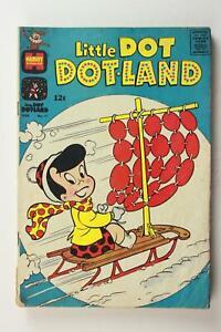 LOT of FOUR LITTLE DOT DOT-LAND 1960s HARVEY COMICS # 17~24~26~29~