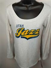 New Utah Jazz Womens Size M Medium Long Sleeve Soft Shirt $35