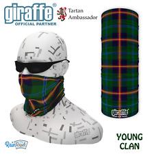 Young Clan Scottish Tartan Multifunctional Headwear Bandana tube