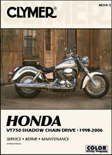 1998-2006 Honda Shadow Spirit ACE VT 750 Chain Drive CLYMER REPAIR MANUAL M314