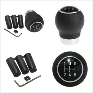 5 Speed Aluminum Manual Car Gear Shift Knob Shifter Lever Auto Replacement Parts