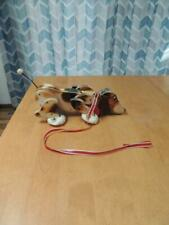 Vintage 1961 Fisher Price Snoopy Sniffer Dog Pull Toy 181 Works Great Leash Nice