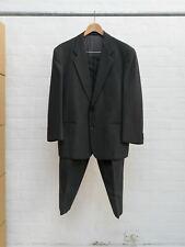Comme des Garcons Homme Plus 1990 grey wool stripe 2 button suit - mens S