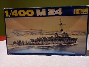 Vintage Heller 1/400 M24 German minesweeper