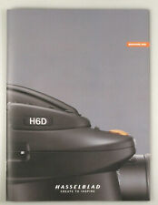 PRL) HASSELBLAD H6D BROCHURE DEPLIANT CATALOGO FOTOCAMERA DIGITALE DSLR PHOTO