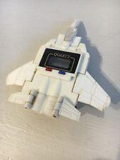 Vintage Quartz Starscream Fighter Jet F15 Watch Transformers Robot. RETRO