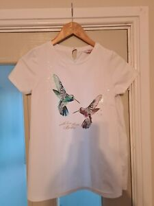 Girls Ted Baker hummingbird Top Age 12-13