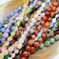 "6x8-10x12mm Natural Gemstone Freeform Potato loose beads 16"""