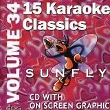 BON JOVI/TINA TURNER/PRINCE - SUNFLY CD+G KARAOKE - SF HITS VOL 034 - 15 TRACKS
